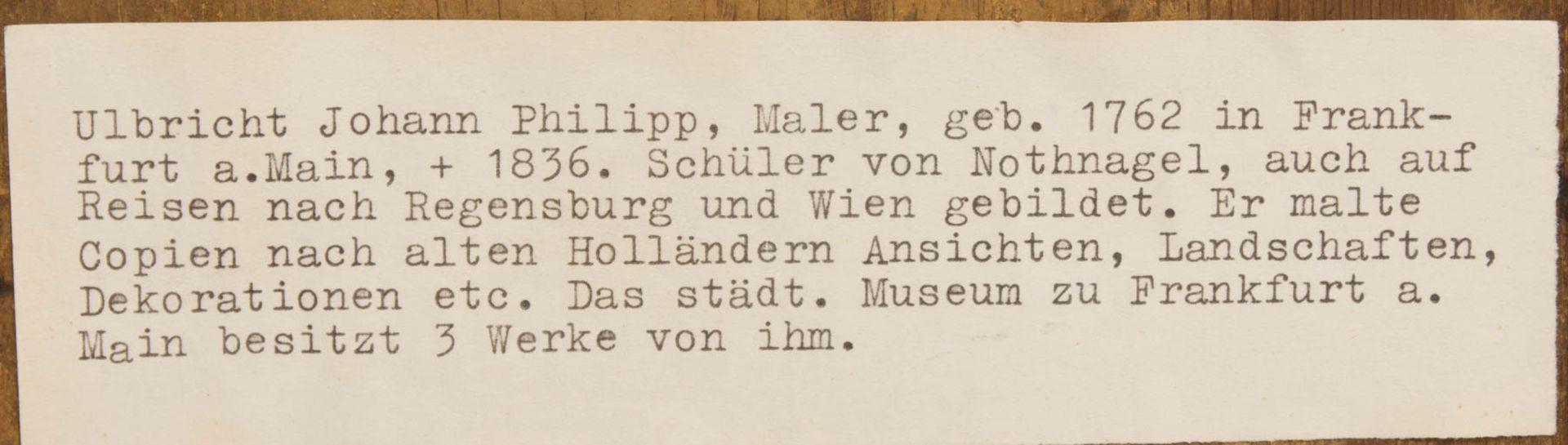 Johann Phillipp Ulbricht, Paar humorvolle Szenen, Öl auf Holz, Mitte 18. Jh. - Bild 4 aus 12