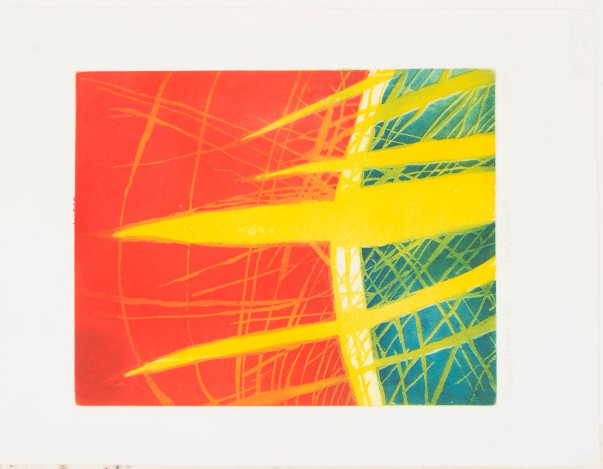 Willibrord Haas, 6 Original Radierungen, Deutschland 20. Jh.Willibrord Haas (1936).<br - Bild 4 aus 7