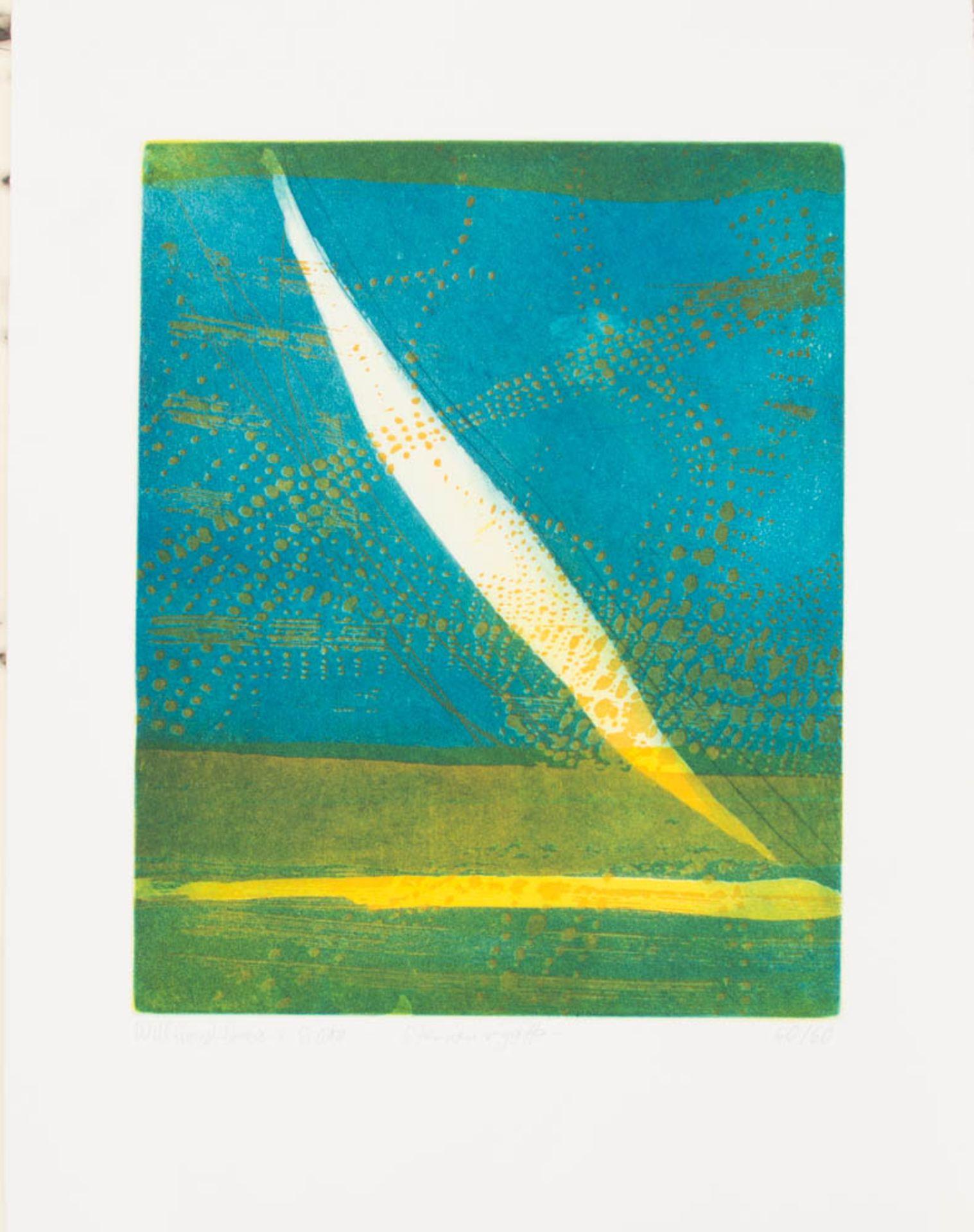 Willibrord Haas, 6 Original Radierungen, Deutschland 20. Jh.Willibrord Haas (1936).<br - Bild 5 aus 7