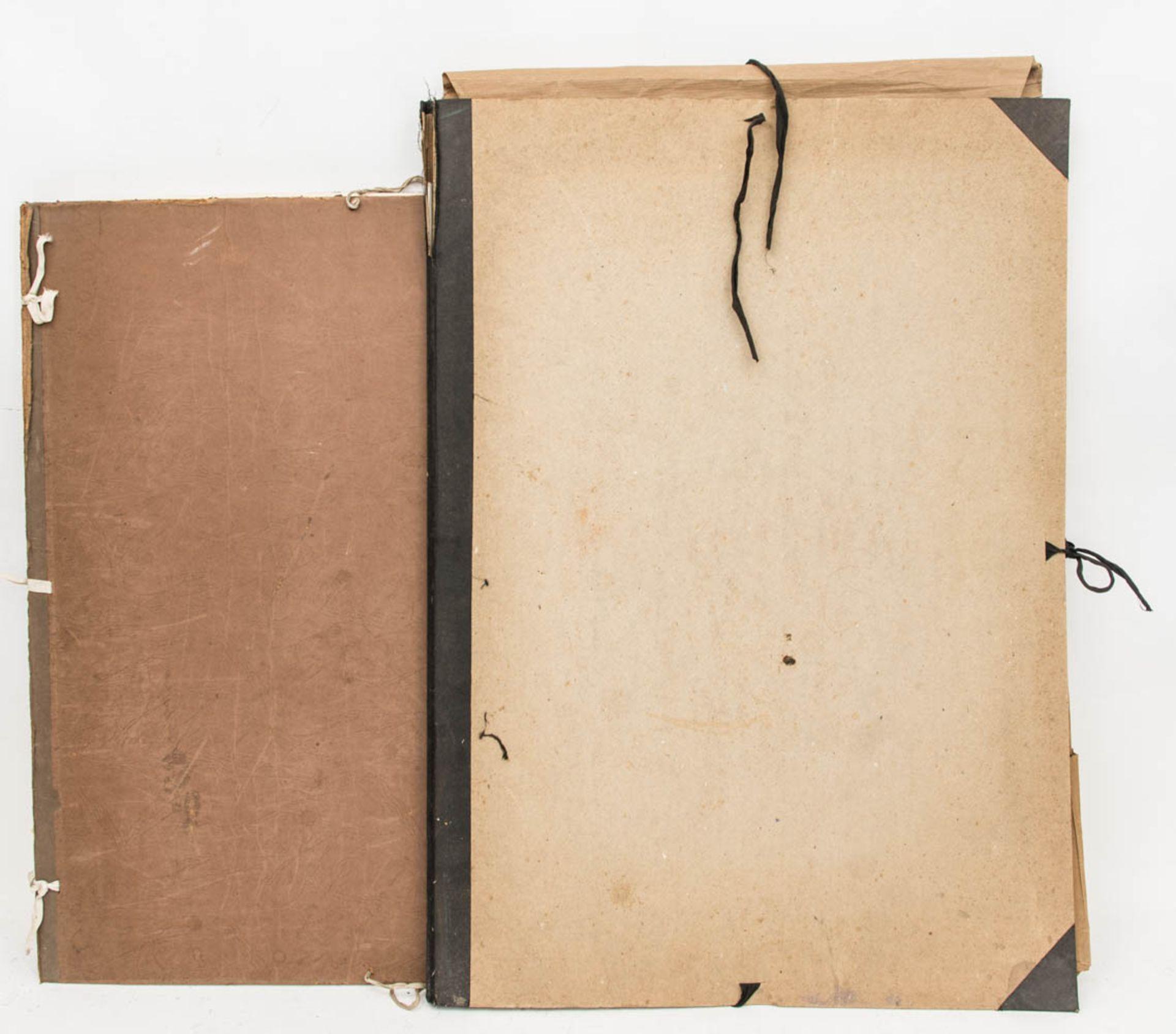 Franz Dreyer, Zwei Grafikmappen, Mischtechniken, Stuttgart 20. Jh.Zwei Mappen mit Akts