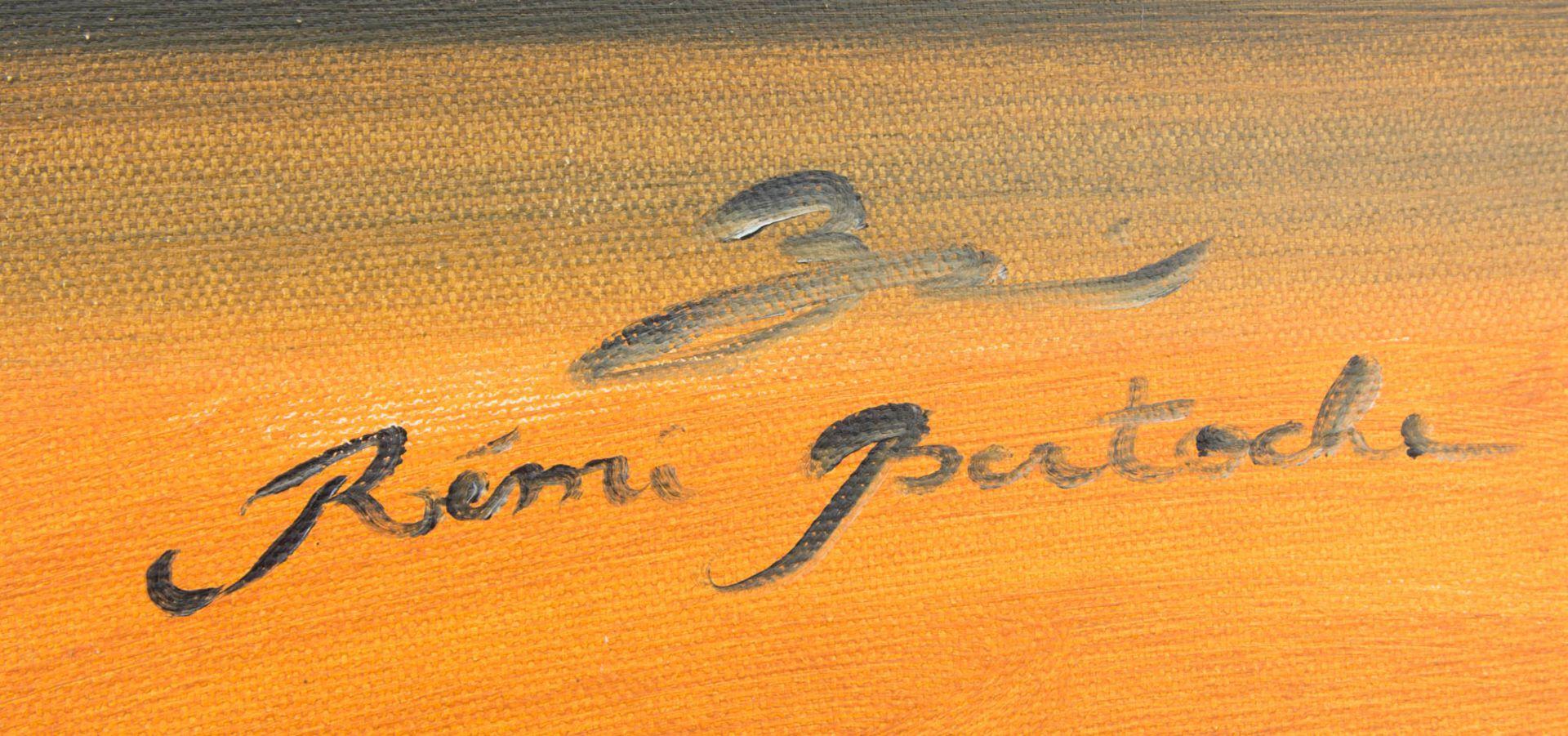 Remi Bertoche, Wellen im Abendrot, Öl auf Leinwand, 20./21. Jh.Oben rechts signiert.< - Bild 2 aus 5