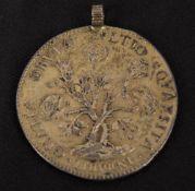 Livorno: Pezza della Rosa 1707, Silber.
