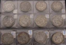 KuK: 42x 1 Gulden Silber Franz Joseph, 466,45g Feinsilber.