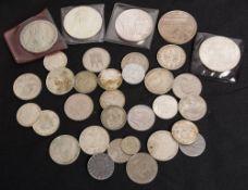 Diverse: Silbermünzen, Medaillen.