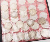 BRD: Euro- u. DM Silbergedenkmünzen 996,31g Feinsilber.