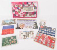 Sammlung Kursmünzen International Mexiko, BRD,Thailand...