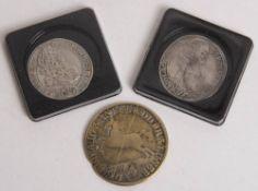 Altdeutschland/RDR: Silbermünzen 17./18. Jh.
