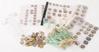Münz- und Banknotensammlung international.