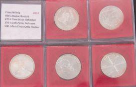 BRD: reichhaltiges Münzalbum 20€ u. 10€ Gedenkmünzen.