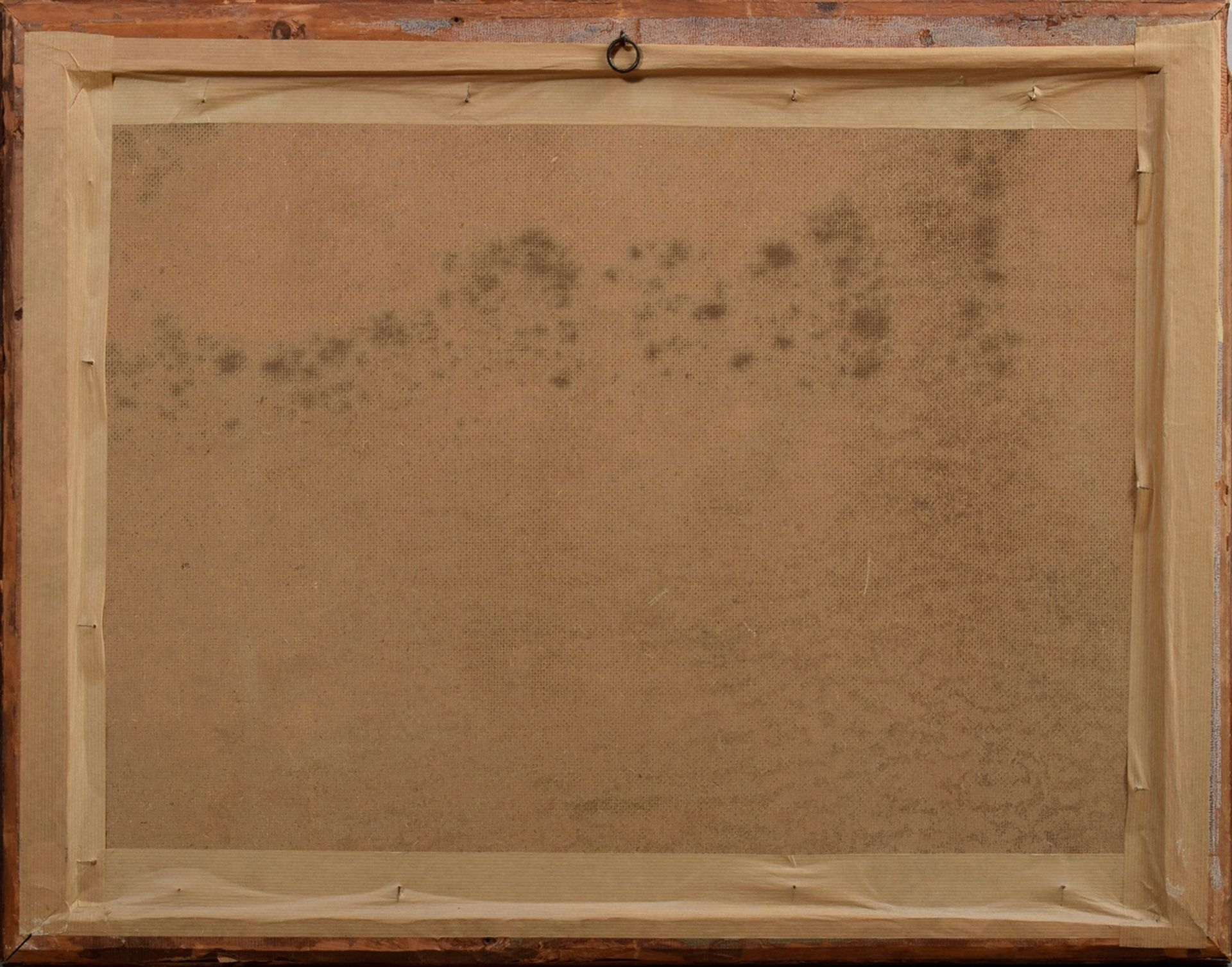 "Unbekannter Marinemaler des frühen 20.Jh. ""Kapit   Unknown marine painter of the early 20th c. ""Cap - Image 4 of 4"