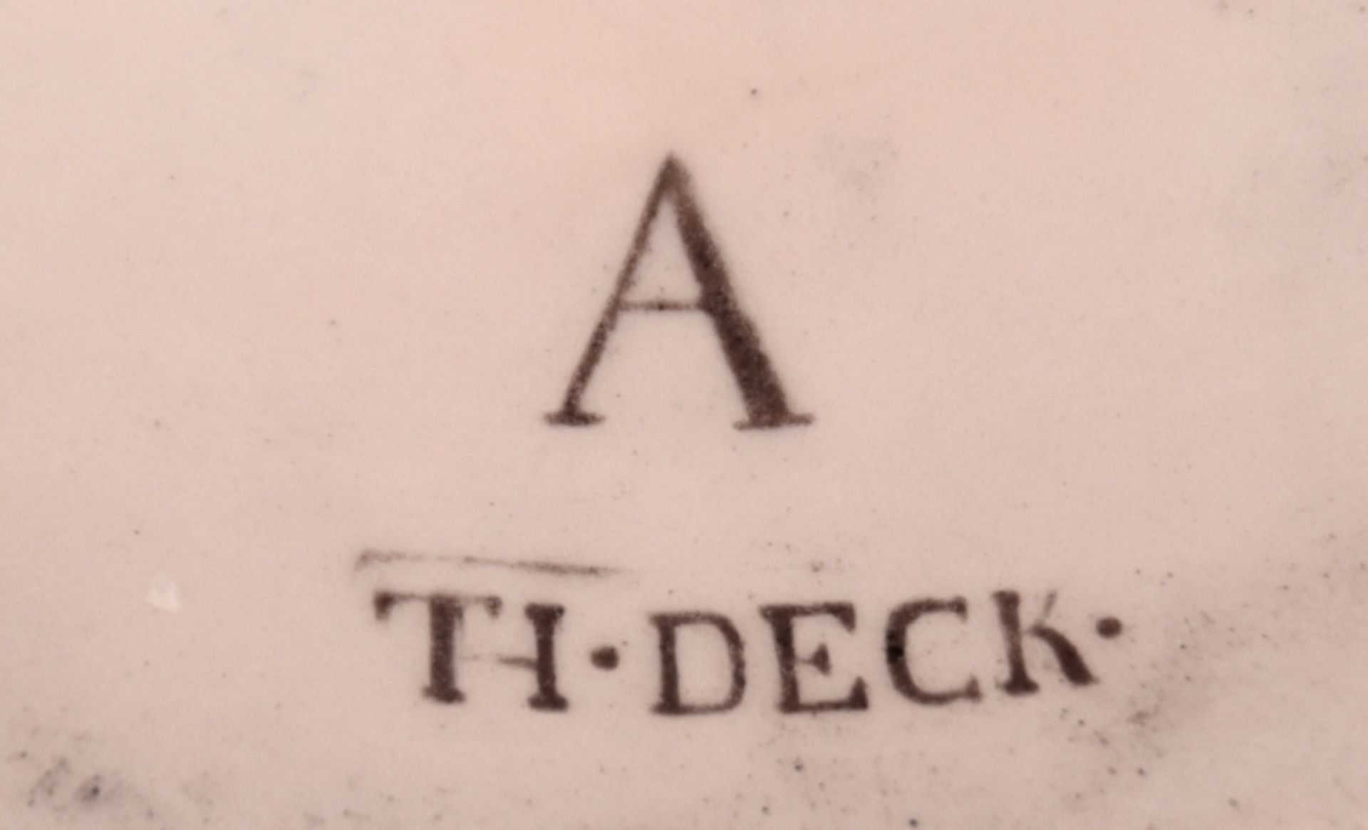 REPRÄSENTATIVE SCHALE Théodore Deck - Image 6 of 6
