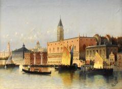 """VON SIEGEN  """"Venedig - Blick auf den Dogenpalast"""""""