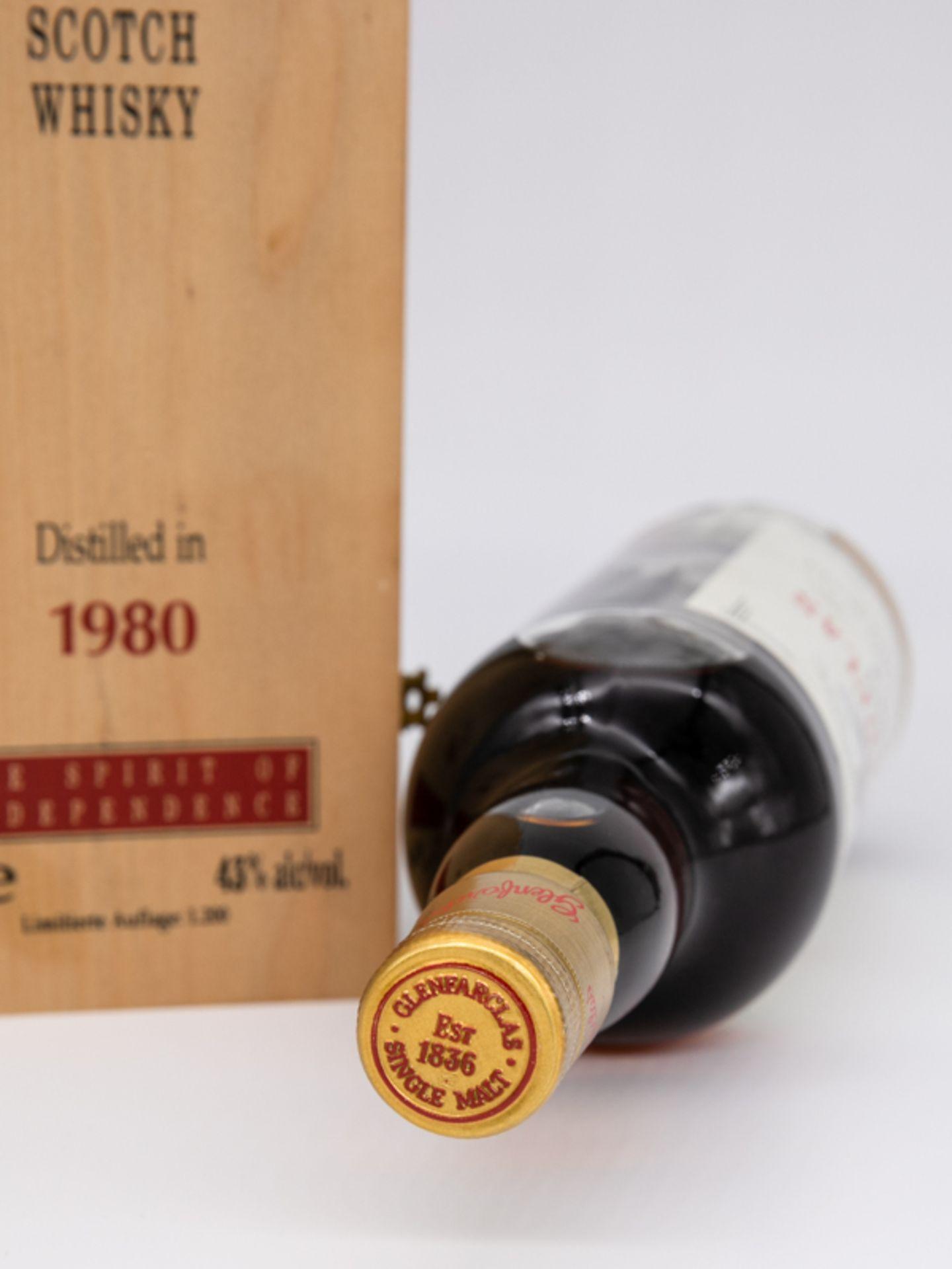 """Single Malt Whisky,""""Glenfarclas"""" Vintage 1980, Limitierte Auflage 59/1200. Destilliert 23. Deze - Bild 4 aus 6"""