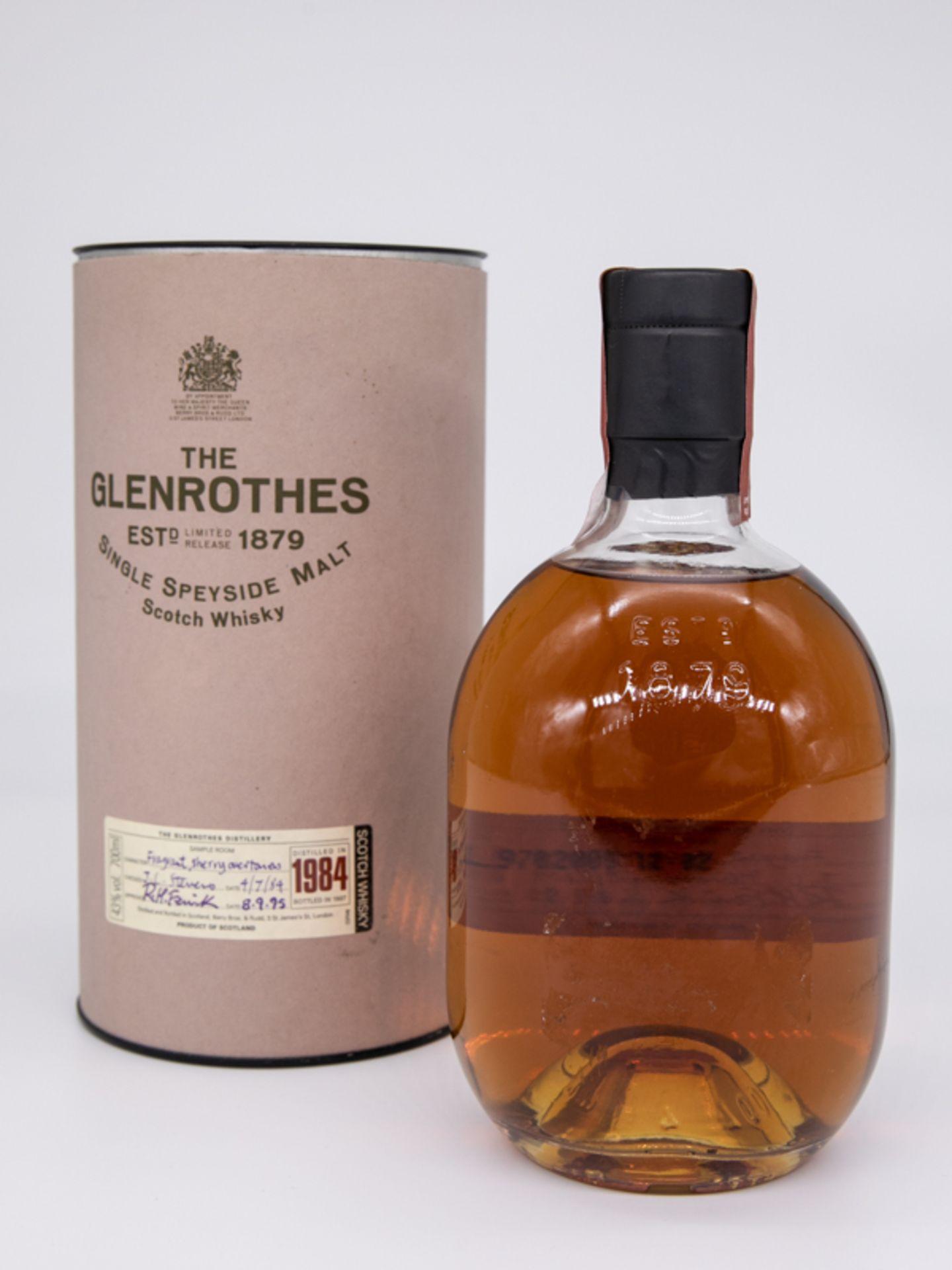 "Single Malt Whisky,""The Glenrothes"", 1984 Limited. Destilliert 04.07.1984. Abgefüllt 08.09.198 - Bild 3 aus 4"