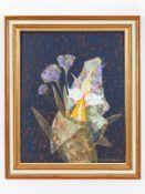 """Ackermann; Rudolf Werner (1908 - 1982).<br><br>Öl/Acryl auf Malkarton; """"Prachtorchidee""""; unten recht"""