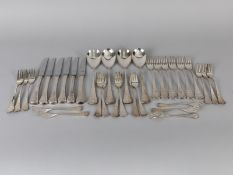 "33-teiliges Speisebesteck ""Romanze""; Entwurf Björn Wiinblad (1918-2006); Rosenthal; 2. Hälfte 20. Jh"