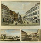 Nach Rosenberg, Johann GeorgAnsichten aus Berlin. 7 Heliogravuren nach den Radierungen. Bis 4