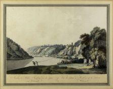 Ziegler, Johann. 1749 Meiningen - Wien 1812Ansicht des Schlosses Thurnberg und der Gege