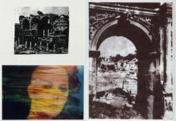 Klemm, Anneliese. Honda, DaisukeFrau im Feuer. Reality of Existence I und II. 3 Photographien