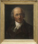 "Graff, Anton (1736 Winterthur-1813 Dresden) ""Selbstporträt"", Öl/Lw., unsign., rückseitigRe"