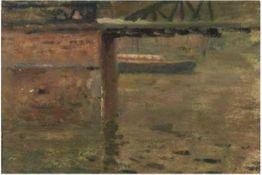 """Höckner, Rudolf (1864 Gut Hilmersdorf bei Wolkenstein/ Erzgeb.-1942 Bad Mergentheim) """"Landschaftsst"""