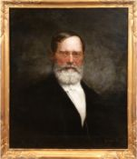 "Keller, Ferdinand (1842 Karlsruhe-1922 Baden-Baden) ""Porträt Hermann Schalck (Denkingen, Newark, US"