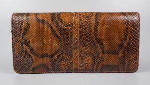 Clutch, snakeskin, 1920s