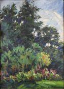 Konstantin Alexeievitch Korovin (russisch, 1861 - 1939), Landschaftsstudie, Krim, 1910