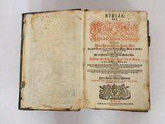 LUTHER, Martin: Biblia - Das ist: Die gantze Heilige Schrift des Alten und Neuen Testaments