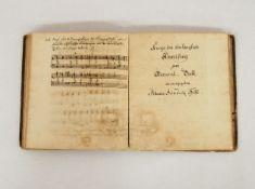 HESSE, Johann Heinrich: Harmonielehre, Generalbass Klavierspiel - Kurze doch hinlängliche zum Genera