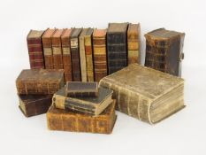 Konvolut Bücher 17.-18. Jahrhundert