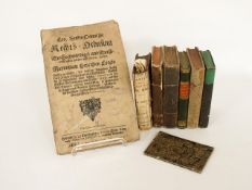 Konvolut alte Bücher