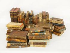 Konvolut Bücher 17.-19. Jahrhundert