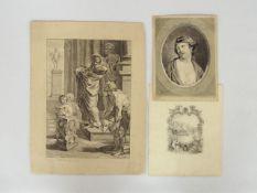 Drei Zeichnungen aus dem 19. Jahrhundert