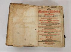 STENGEL, Georg: De iudiciis divinis - Das ist: Von den göttlichen Urtheilen und Anordnungen...
