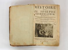 GENEBRARD, Gilbert: Histoire de Fl. Iosephe Sacrificatevr Hebrev