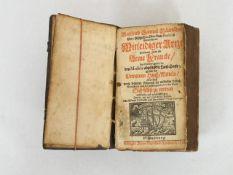 BÄUMLER, Gottfried Samuel: Mitleidiger Artzt uberhaupt gegen alle Arme Krancke....