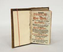 NIGRINUS, Christian: Curieuses Diarium - Oder Tag=Buch Aller der jenigen denck= und merckwürdigsten