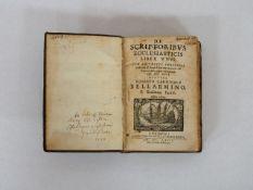 Bellarmin, Robert: De scriptoribus ecclesiasticis liber unus ...