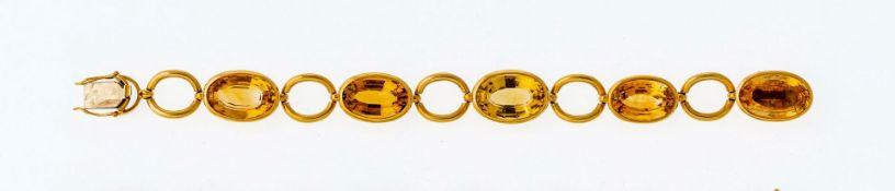Citrin-Armband