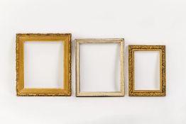 Drei Bilderrahmen