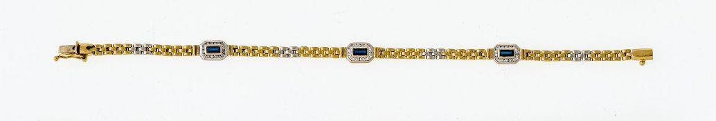 Bicolor-Armband