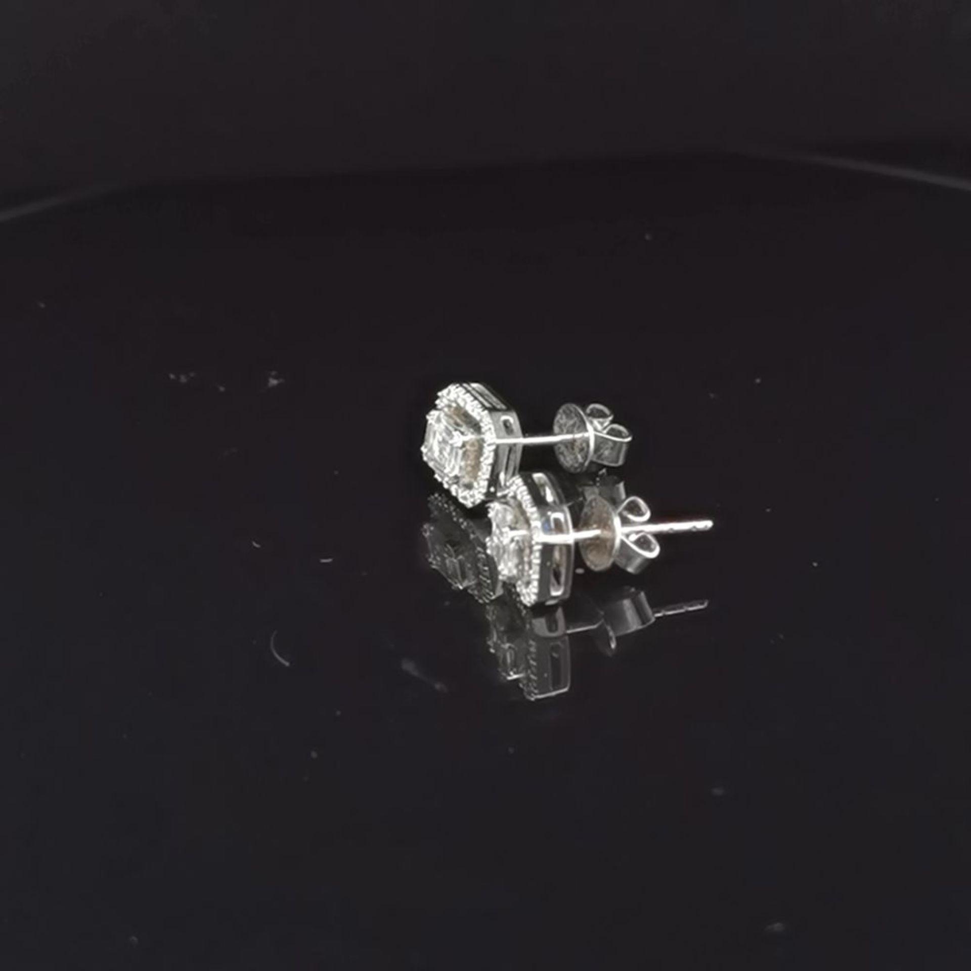 Diamant-Brillant-Ohrstecker, 585 - Image 2 of 3
