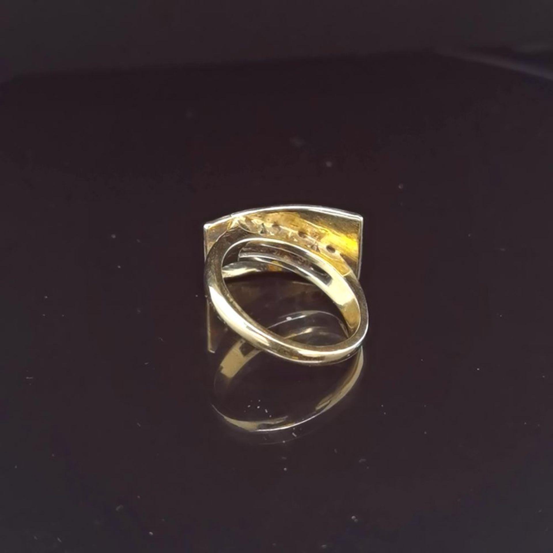 Brillant-Ring, 585 Gelbgold 7,18 - Image 3 of 3