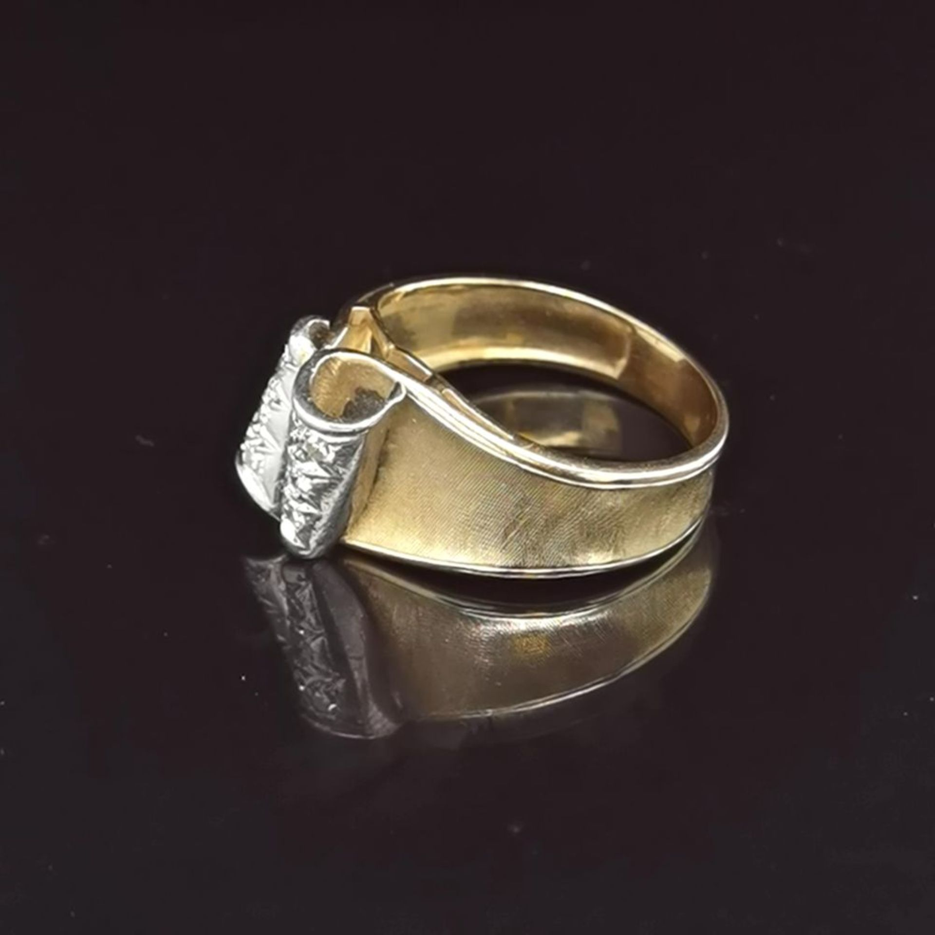 Diamant-Ring, 585 Gold 5,4 - Image 2 of 3