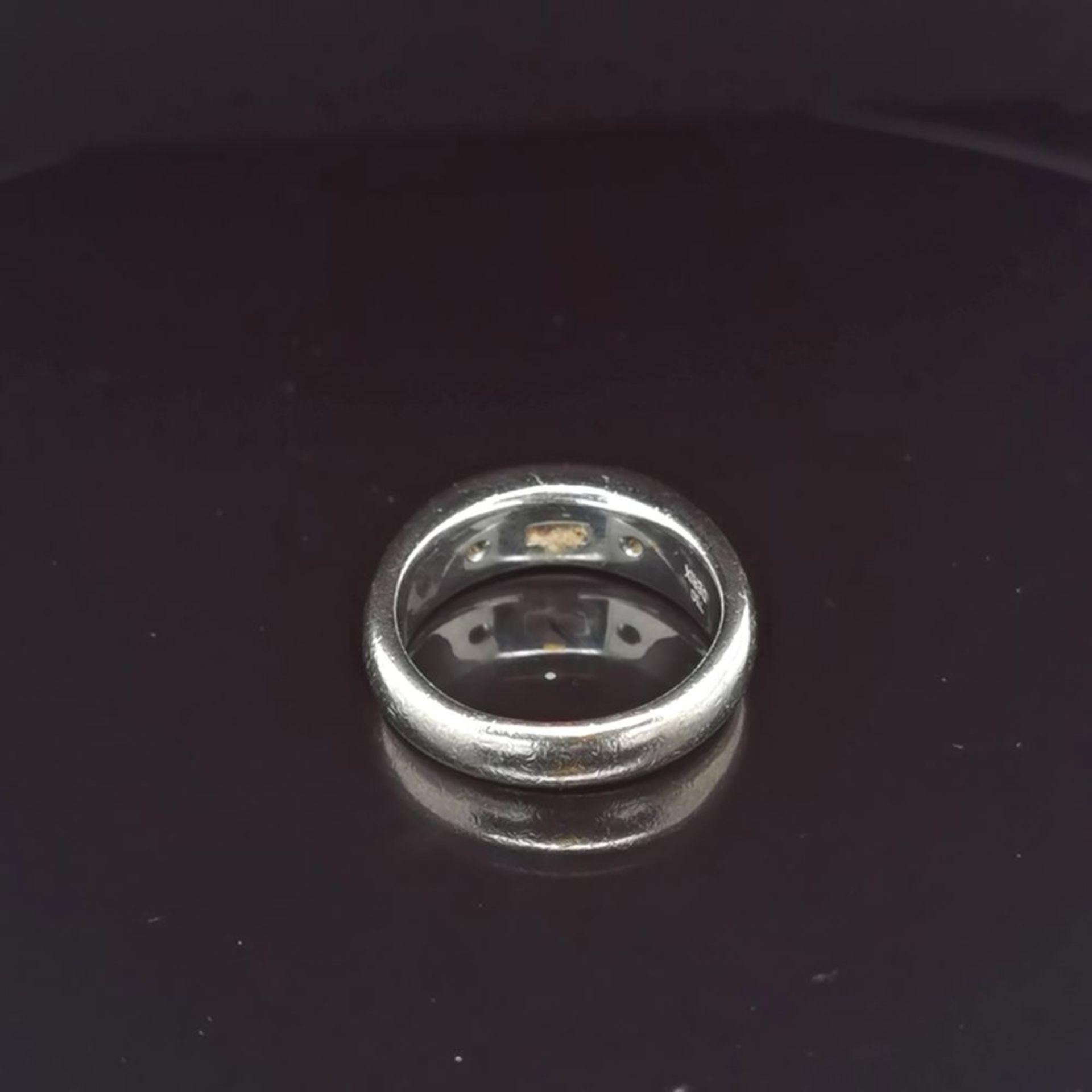 Diamant-Ring, 750 Weißgold 13,6 - Image 3 of 3