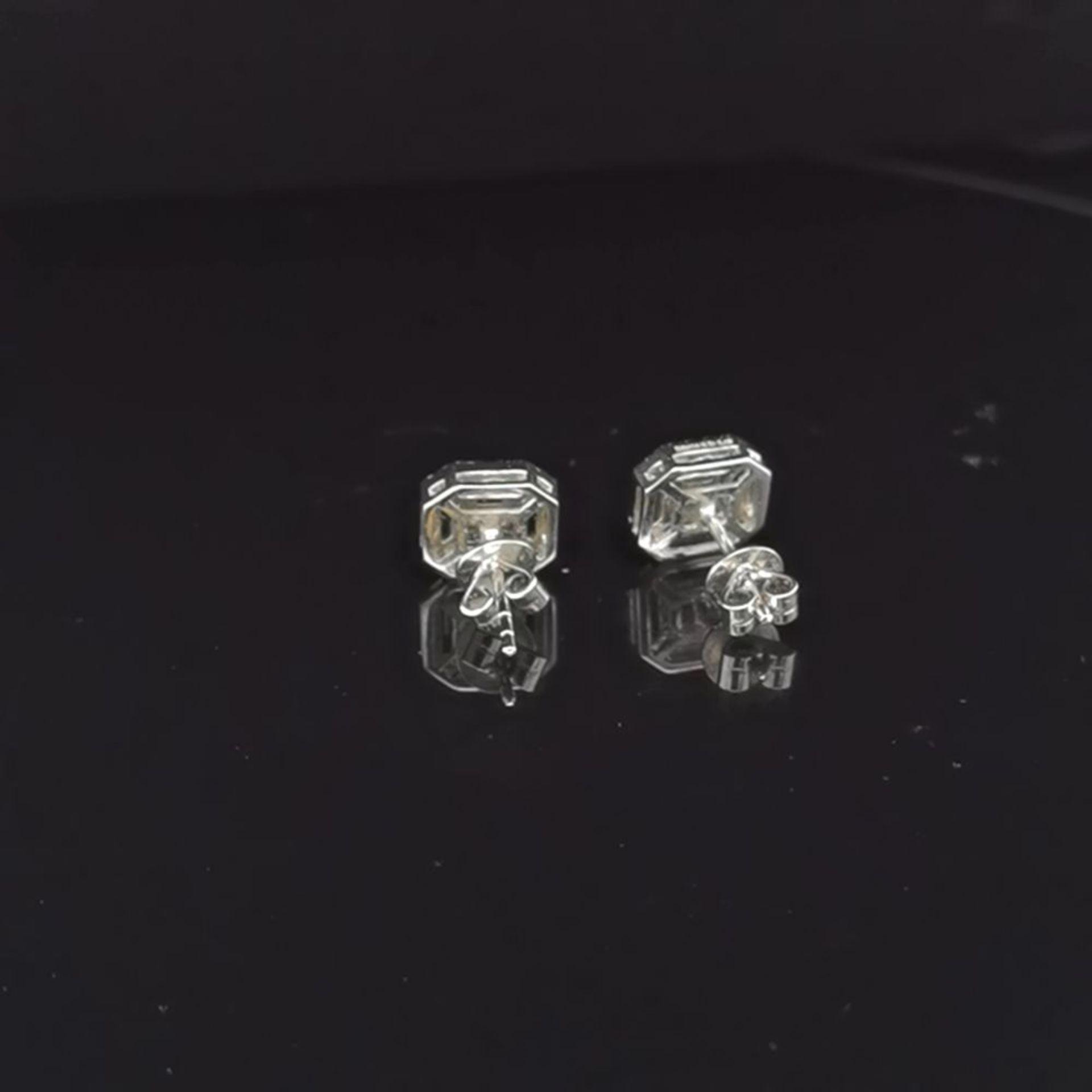 Diamant-Brillant-Ohrstecker, 585 - Image 3 of 3