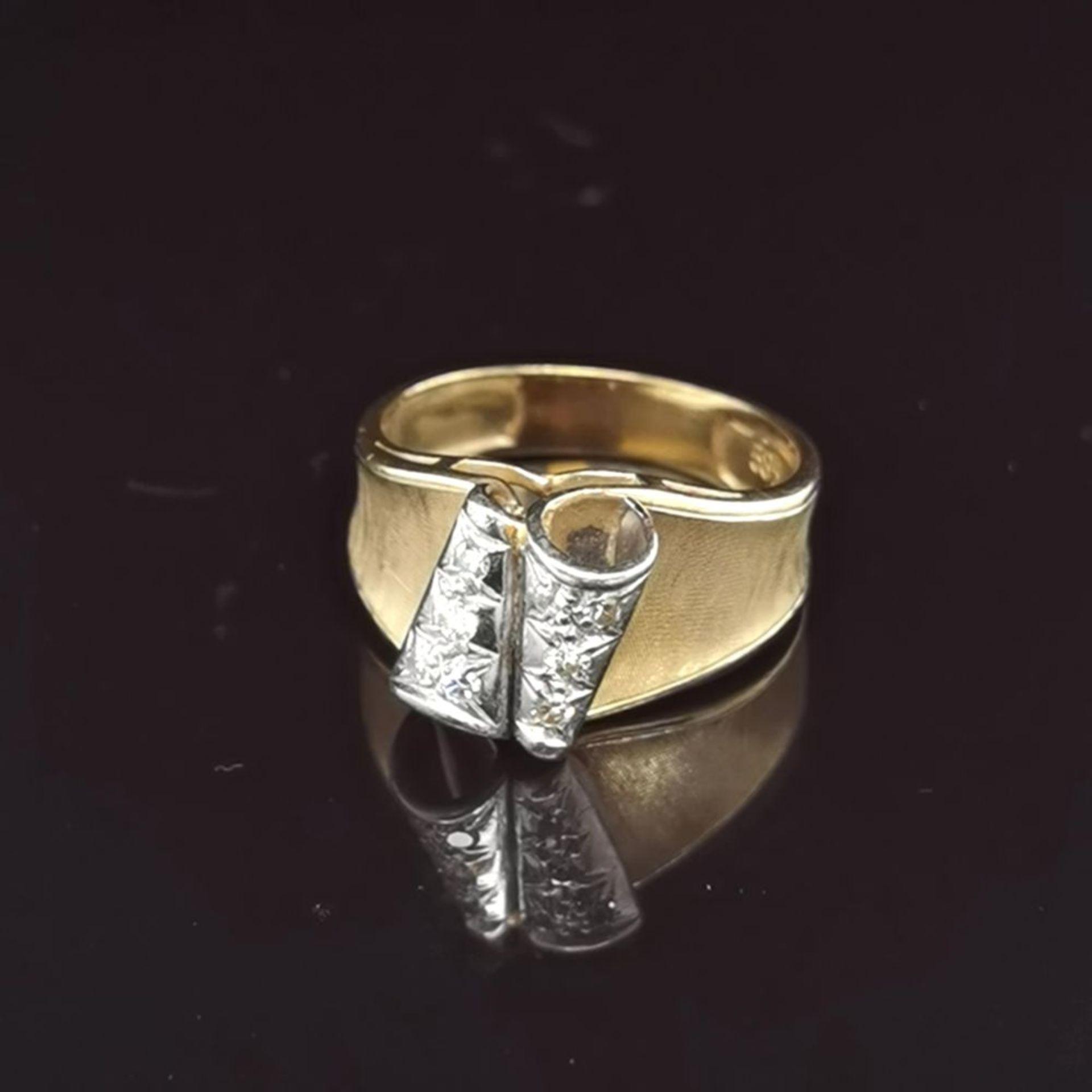Diamant-Ring, 585 Gold 5,4