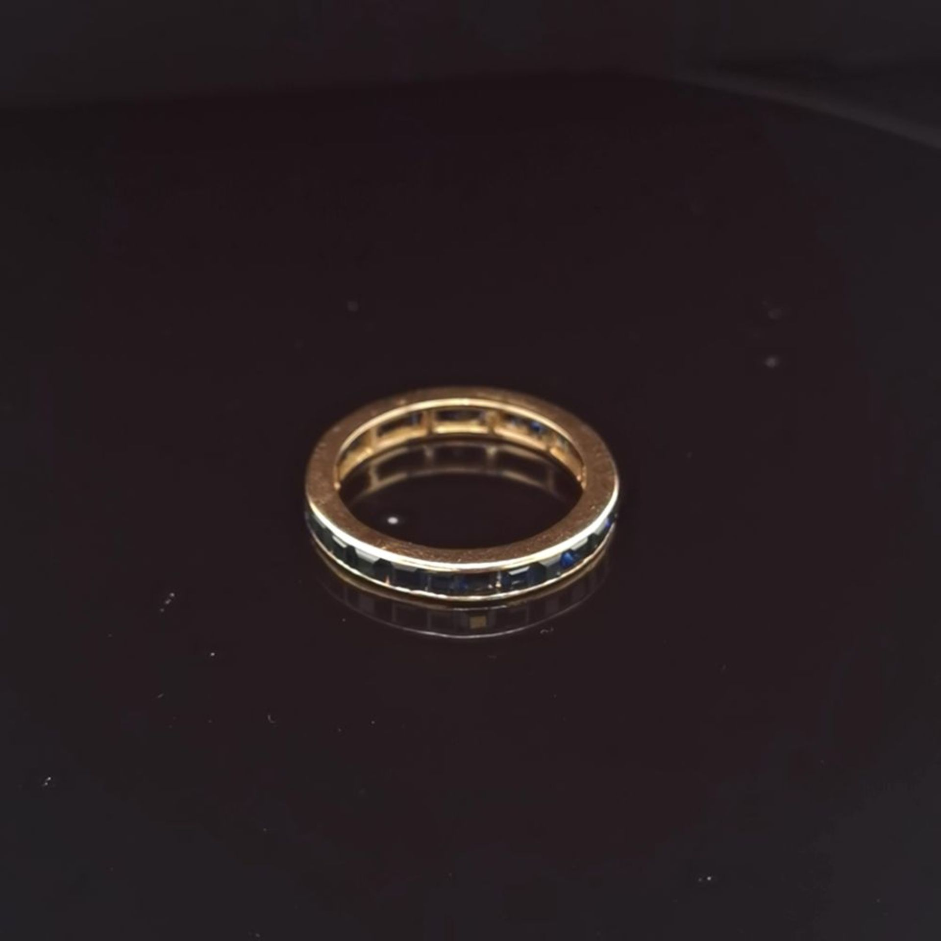 Saphir-Ring, 585 Gold 2,86
