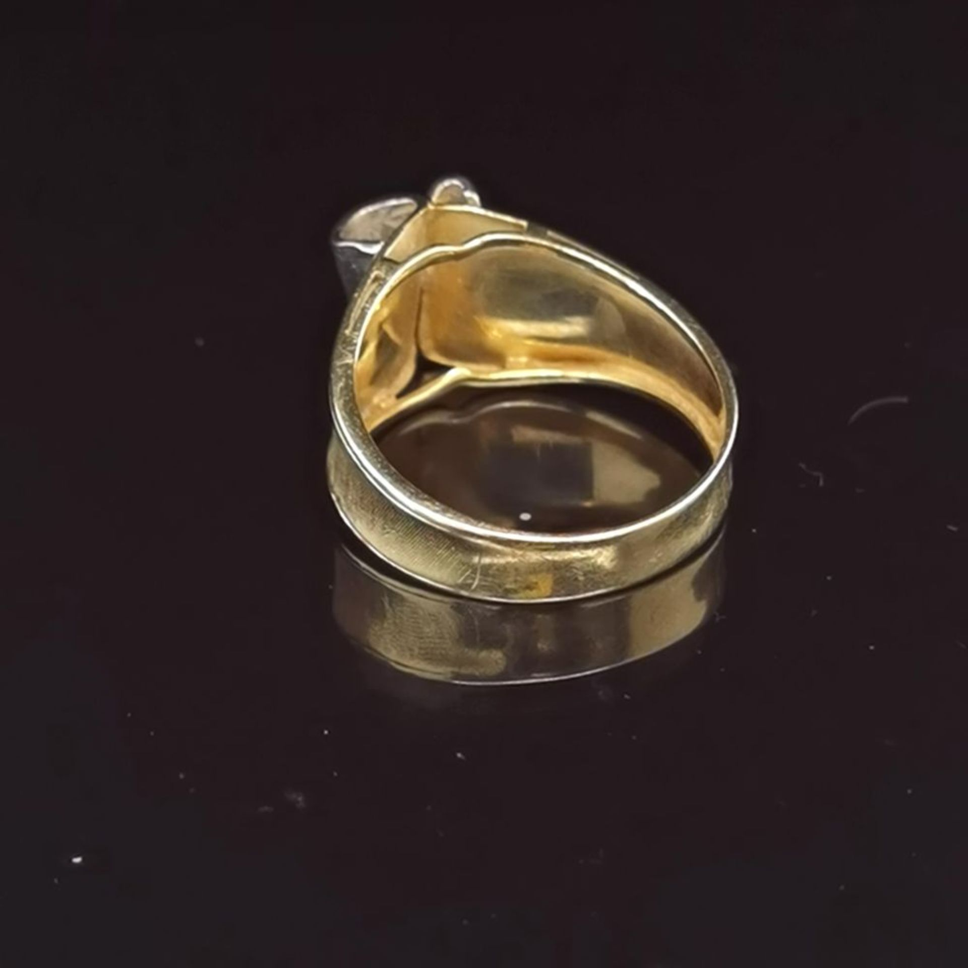 Diamant-Ring, 585 Gold 5,4 - Image 3 of 3